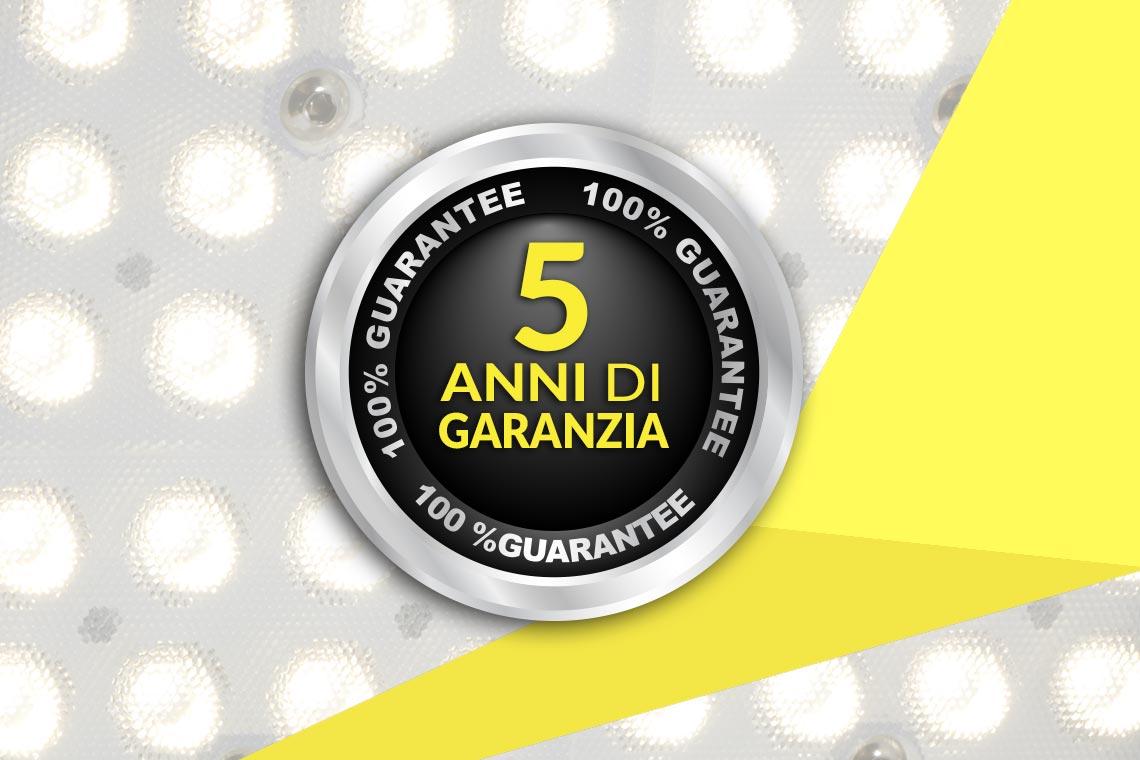 LIICHT Professional lighting - Garanzia 5 anni